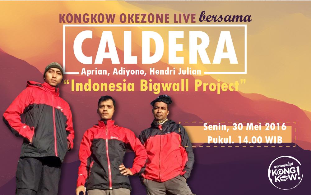 Ikuti Kongkow Bersama Caldera Adventure dan Menangkan Voucher Rafting!